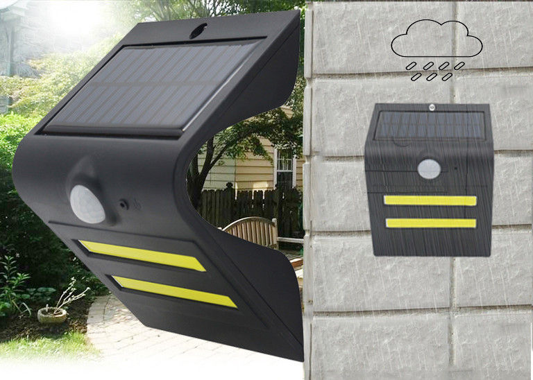 Solar Led Security Wall Light With Motion Sensor , Solar Motion Yard Lights